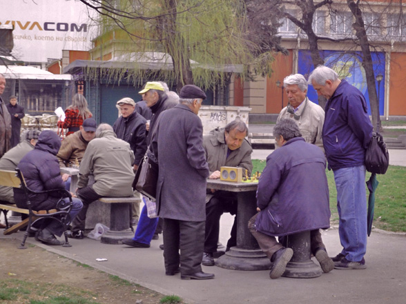 Schach in Sofia